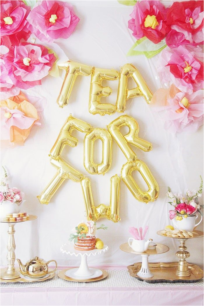 2 Year Old Birthday Decoration Ideas Tea For Party Parties Teas And