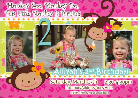 2 Year Old Birthday Invites 2 Year Old Birthday Invitations