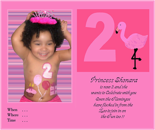 2 Year Old Birthday Party Invitation Wording Quotes
