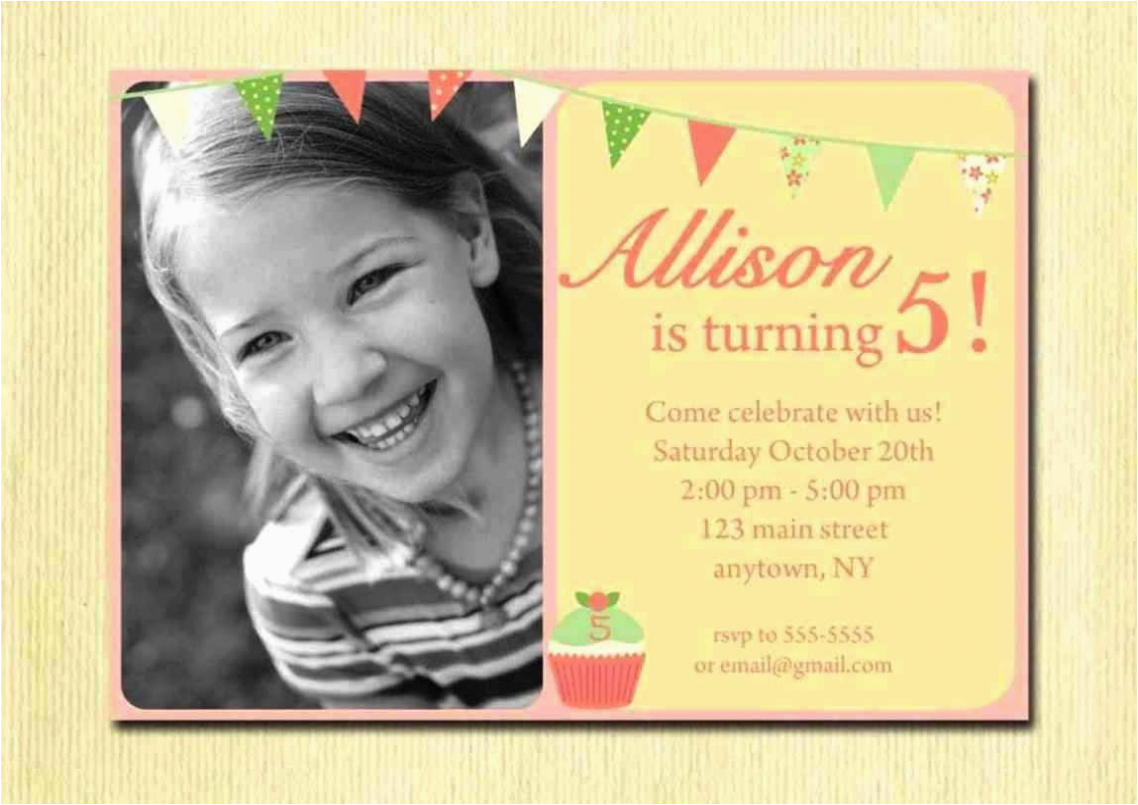 2 Year Old Boy Birthday Invitations 5 Year Old Birthday Invitations
