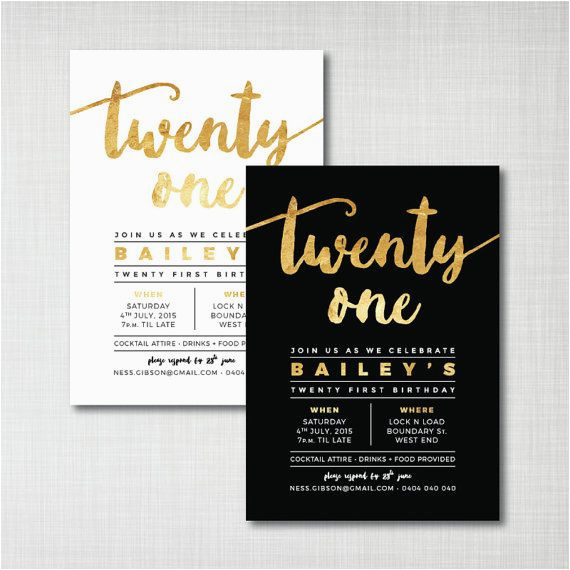 21 Birthday Invites 25 Best Ideas About 21st Birthday Invitations On