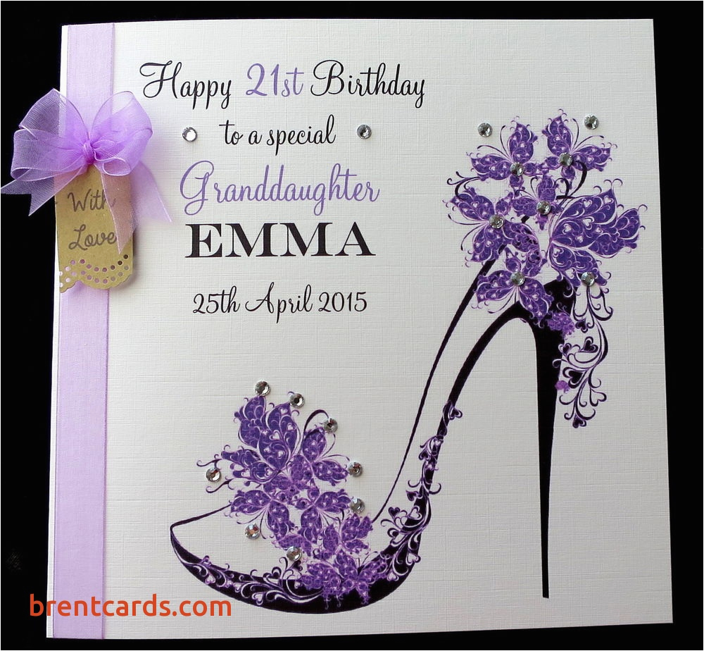 21st Birthday Card Messages For Granddaughter Greeting Free Design Ideas