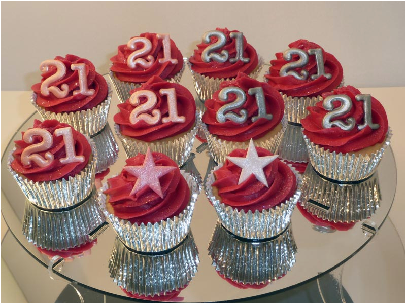 21st Birthday Cupcake Decorations Cake And Ideas Criolla Brithday