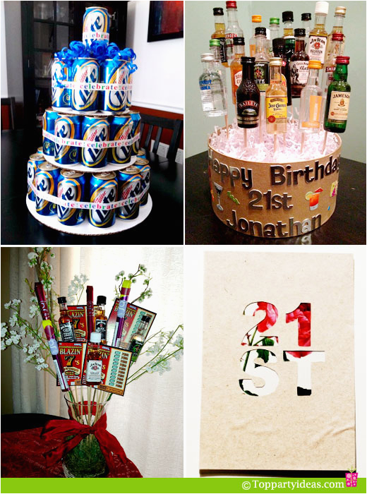 21st Birthday Decorations For Him Party Ideas