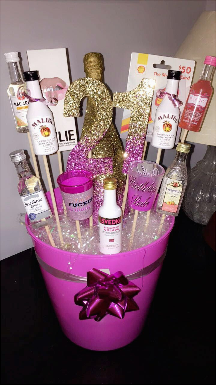 21st Birthday Gift Basket Ideas For Her Best 25 21 Gifts On Pinterest