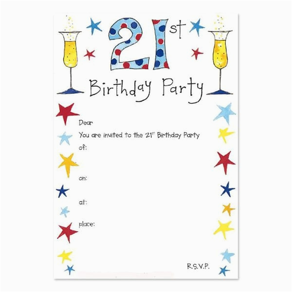 21st Birthday Invitations For Guys Free 30 Party