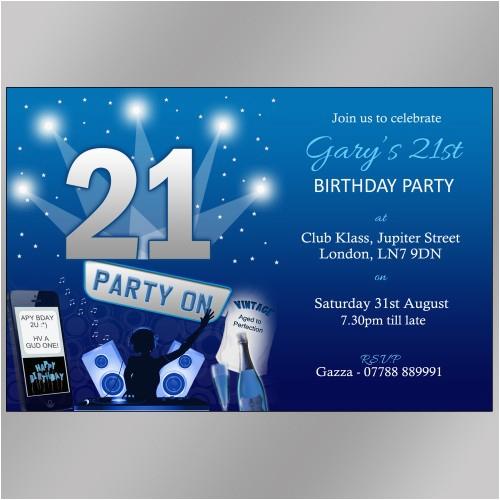 21st Birthday Invitations Male For Guys Lijicinu 1bb9a3f9eba6