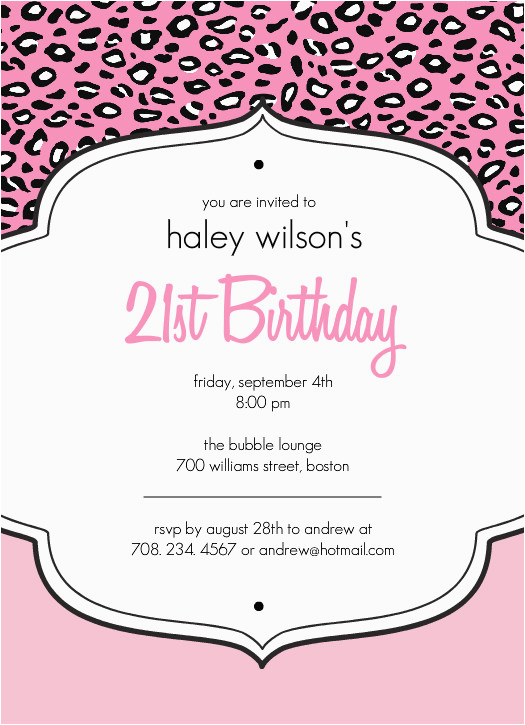 21st Birthday Invitations Templates 40th Ideas Invitation