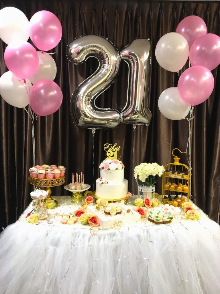 21st decorations