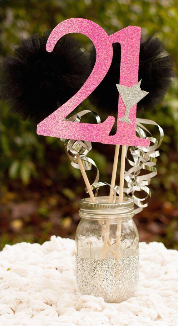 21st party decorations