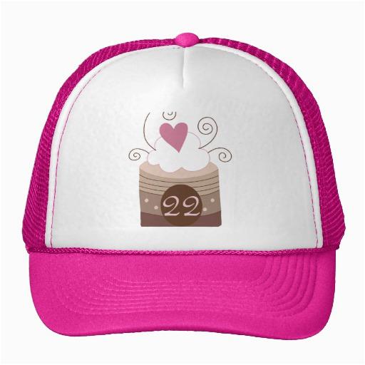 22nd birthday gift ideas for her trucker hat zazzle