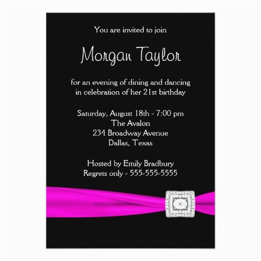 22nd birthday party invitations