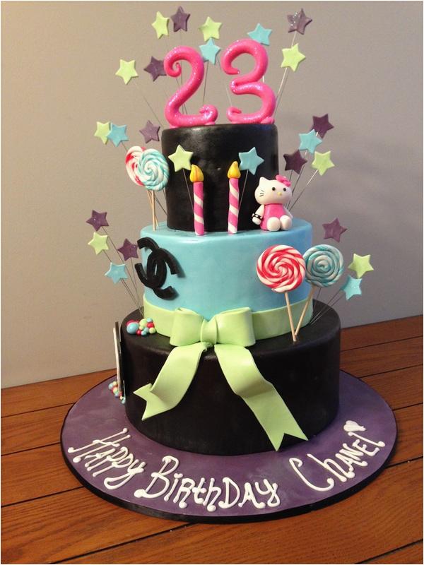 8 23rd birthday cakes for women photo 23rd birthday cake