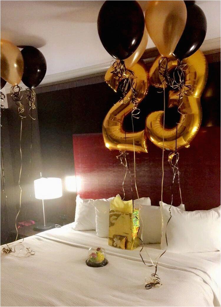 birthday surprise for him his birthday pinterest