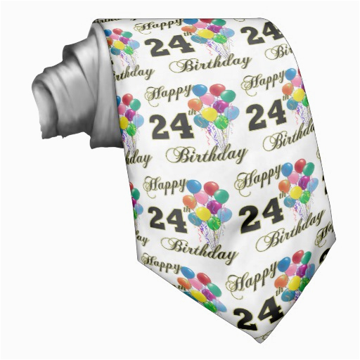 24th Birthday Gifts for Her Happy 24th Birthday Gifts with Balloons Zazzle