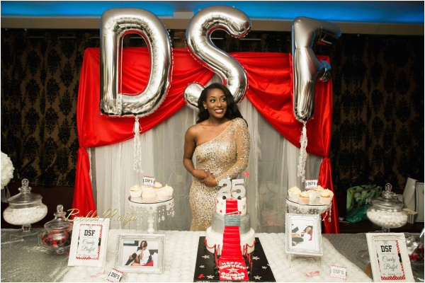 All White Everything Photos From Dorcas Shola Fapsons Fun 25th Birthday Party