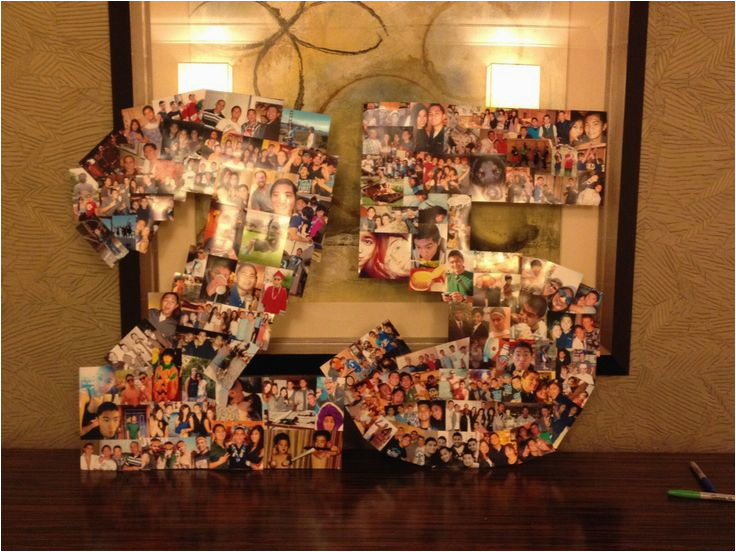 25th Birthday Gifts For Her A 25 Picture Collage The Boyfriends My