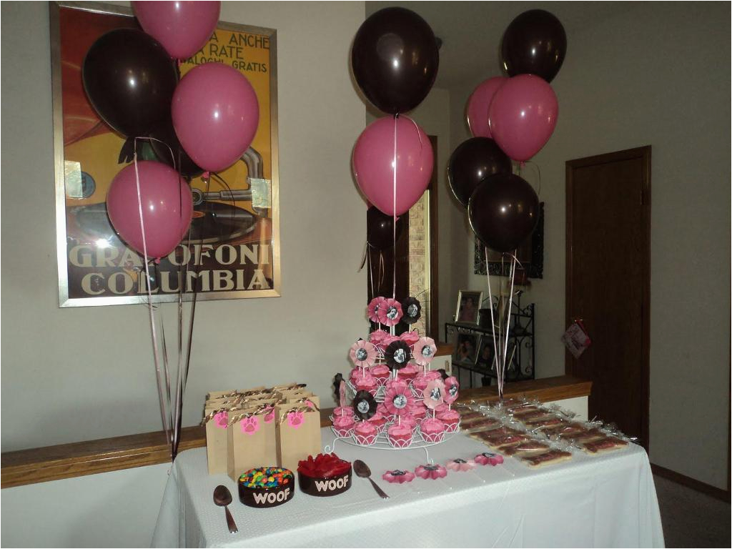 the simple appearance from 25th birthday party ideas