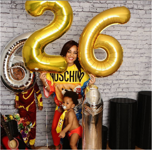 Adaeze Yobo Shares Lovely Photos Ahead Of Her 26th Birthday Gifts