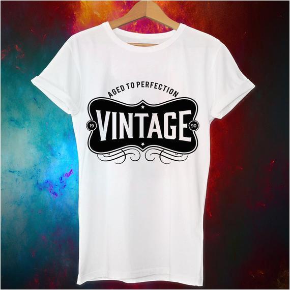 27th birthday gift vintage 1990 27th birthday shirt