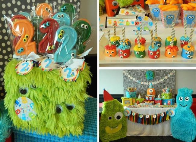 2nd Birthday Decorations For Boy 34 Monster Party Ideas Spaceships And Laser Beams