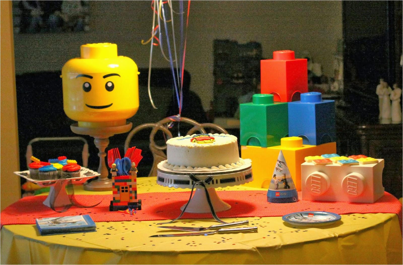 gavins lego birthday party