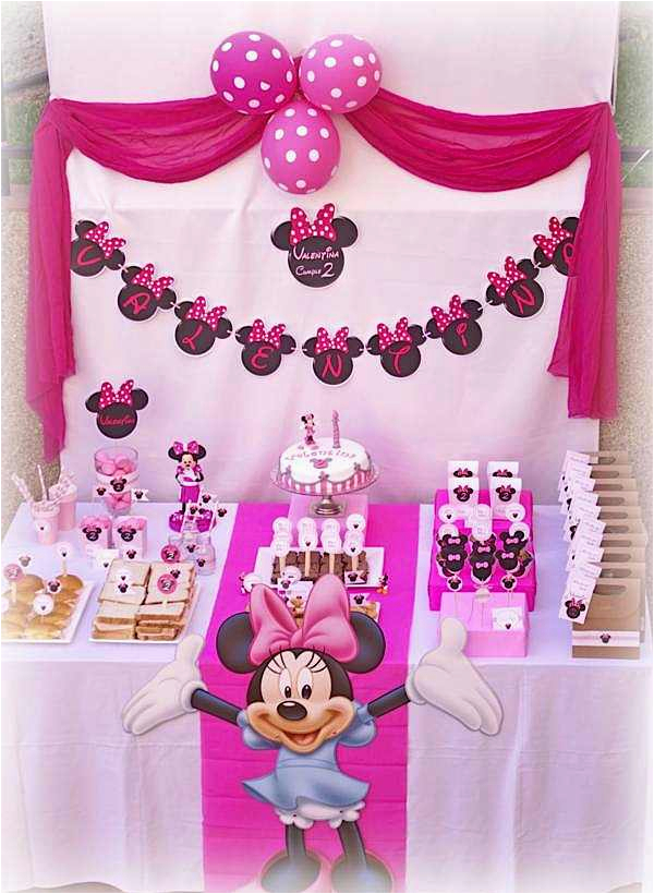 minnie mouse 2nd birthday party 2