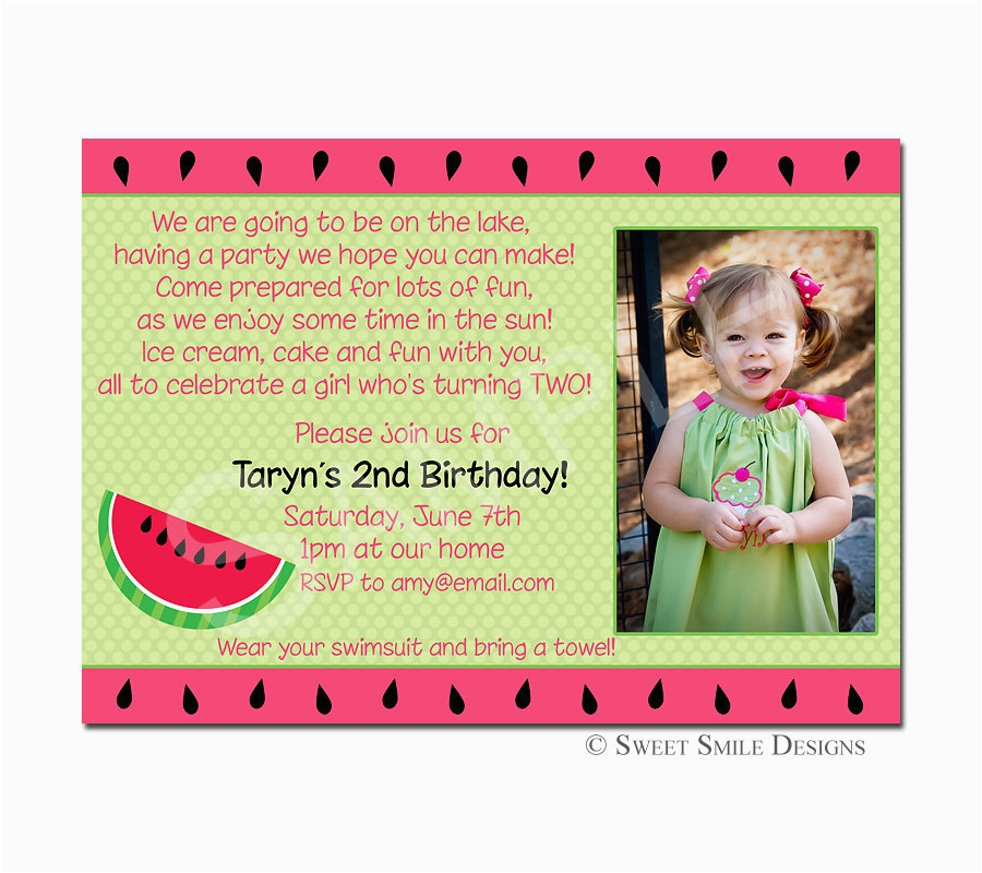 2nd Birthday Invitation Wording Samples 3rd Party Quotes Best Happy