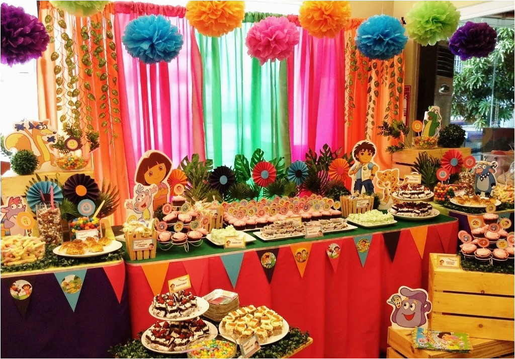 3 Year Old Birthday Party Decorations Ideas At Homewritings And Papers