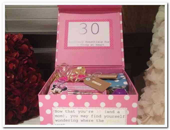 30 Birthday Gifts For Her Gift Ideas 30th Ftempo