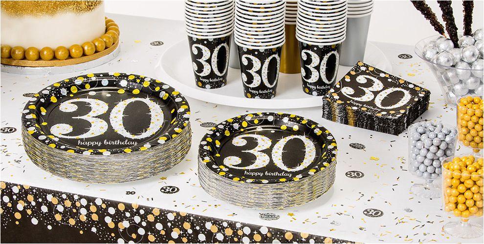 30 Birthday Party Decoration Ideas Sparkling Celebration 30th Supplies