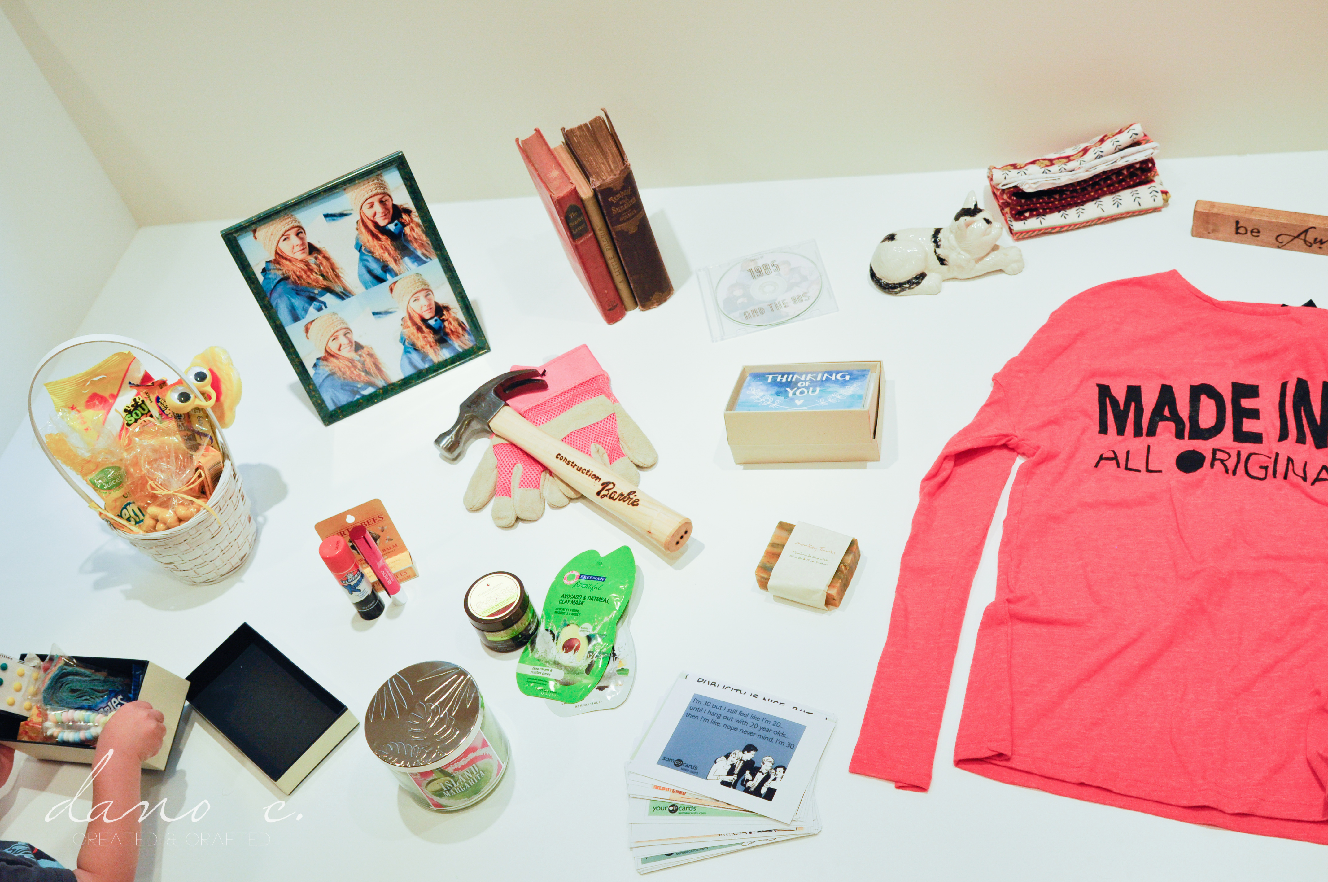 30 days of gifts 30th birthday ideas