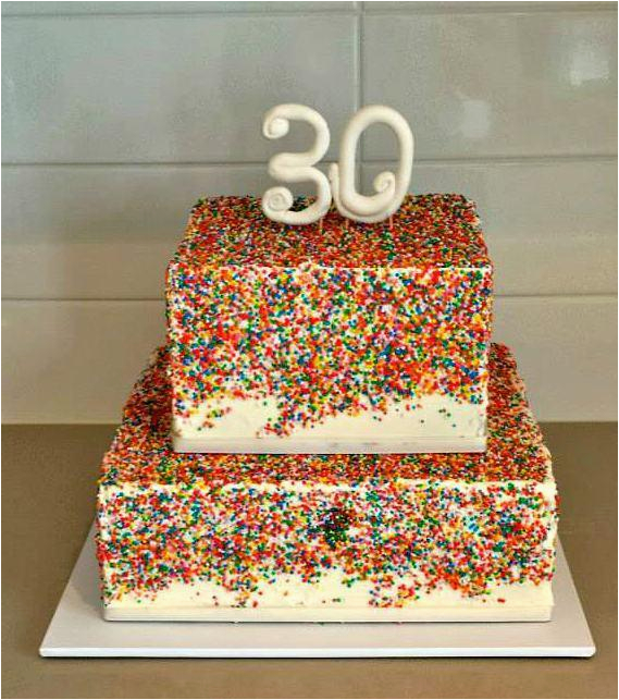 30 Year Old Birthday Party Decorations Cake Ideas A