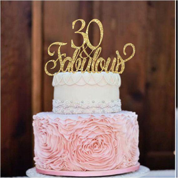 30 Year Old Birthday Cake Ideas