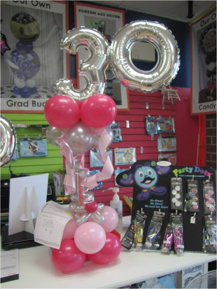 30th Birthday Decorations Cheap 22 Best Images About Balloons On Pinterest
