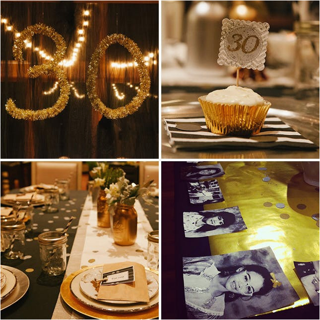 30th Birthday Decorations For Her 20 Ideas Your Party Brit Co