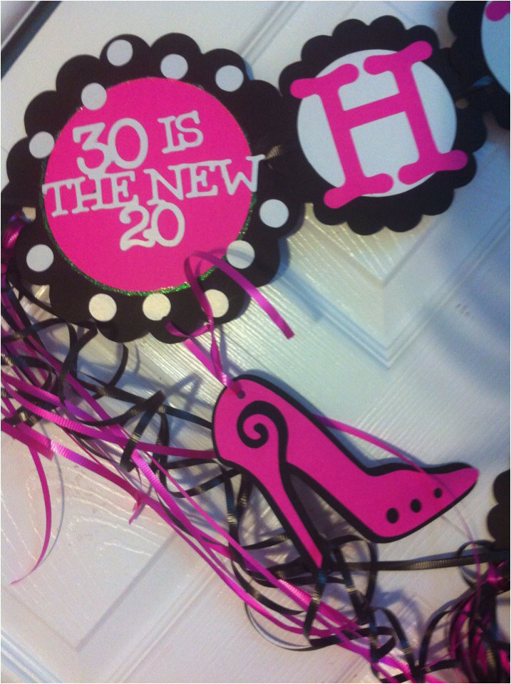 30th Birthday Decorations For Her