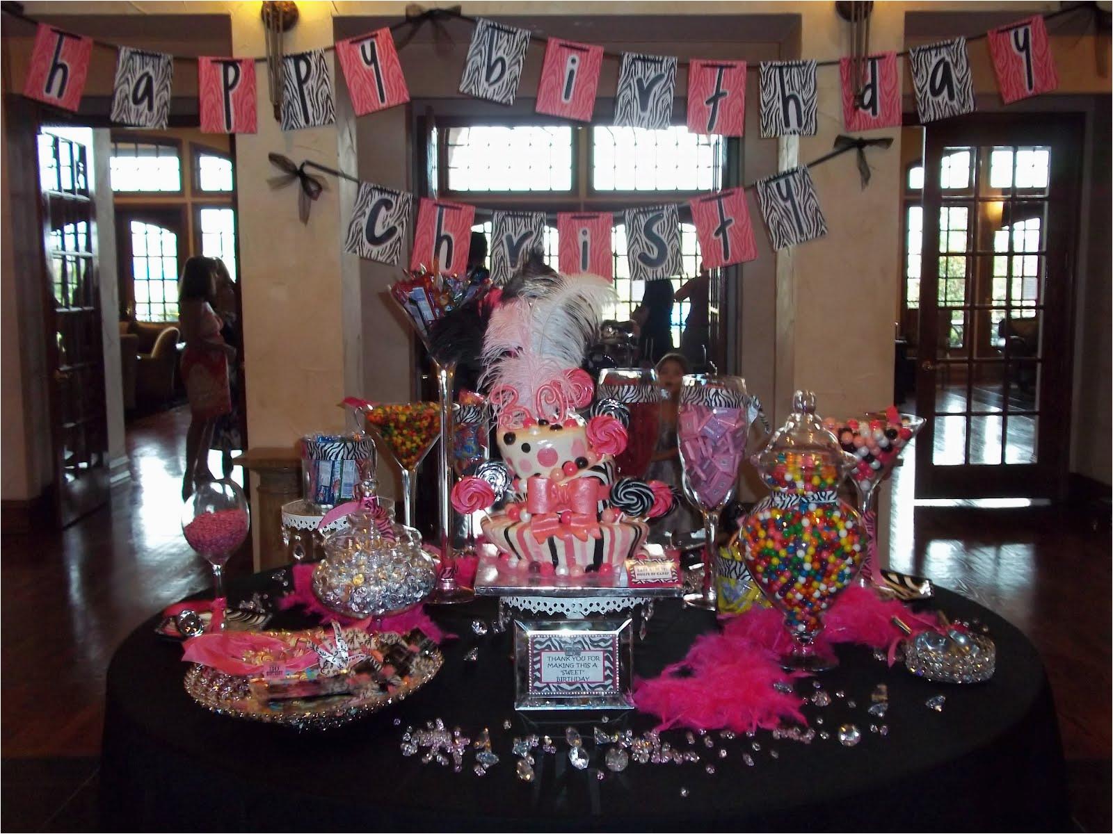 30th birthday party cake