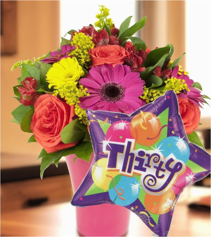30th Birthday Flowers And Balloons 17 Best Images About Our Flower Collection On Pinterest