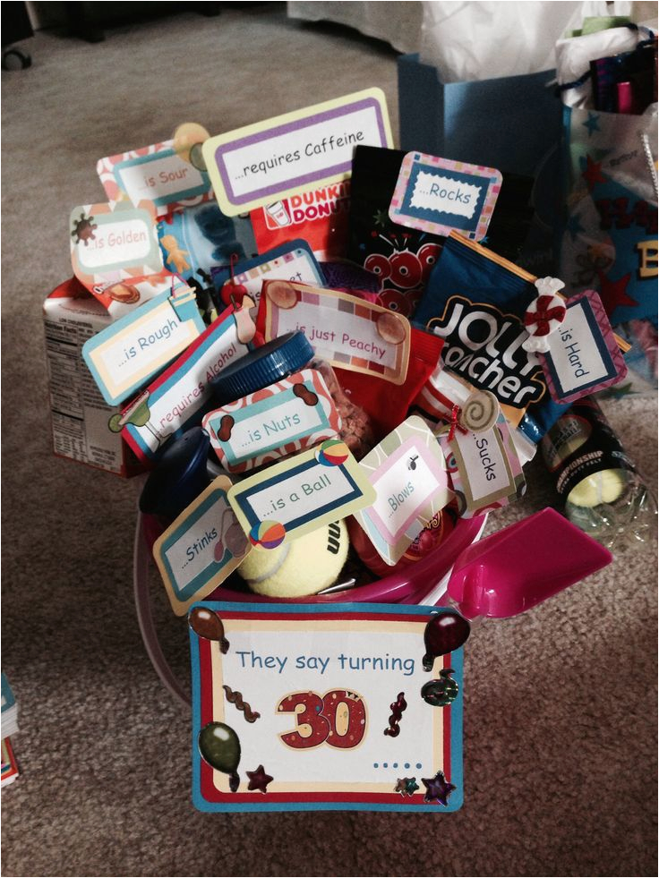 30th Birthday Gift Baskets For Her The 25 Best Gifts Ideas On Pinterest 30