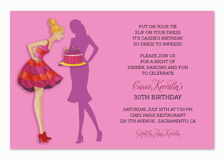 30th Birthday Invitation Wording Samples Quotes For Party Invitations Quotesgram