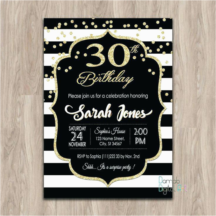 30th Birthday Party Invitations For Her Lijicinu 4969eef9eba6