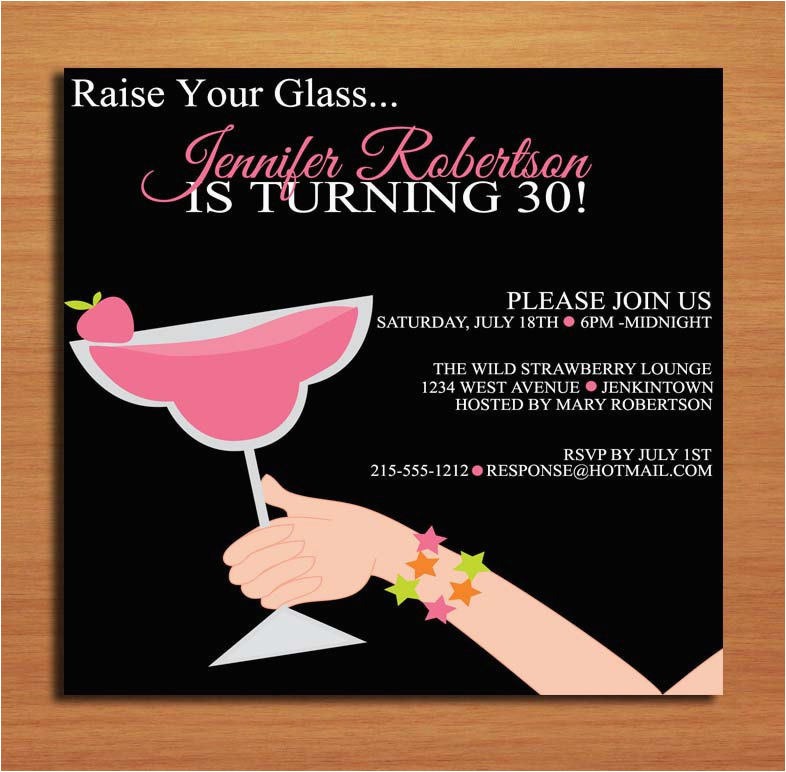 30th Birthday Party Invite Wording Funny Invitation Dolanpedia