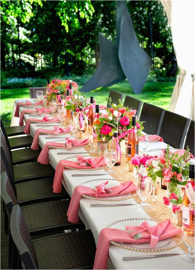 a pink 30th birthday celebration
