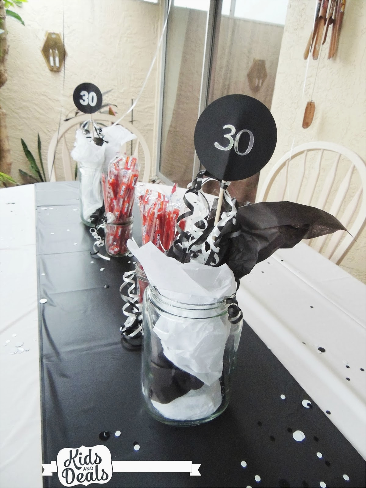 a 30th birthday party for my husband