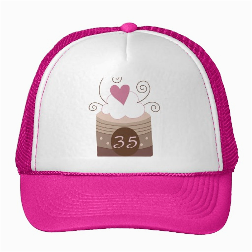 35th Birthday Gift Ideas For Her Trucker Hat Zazzle