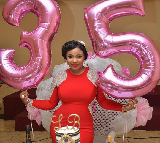 35th Birthday Gift Ideas For Her Official Photos From Nollywood Actress Laide Bakare S