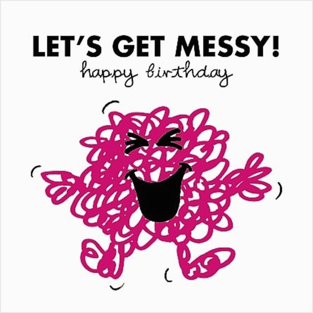3d Holographic Birthday Cards 3d Holographic Mr Messy Mr Men Birthday Card Amnvz012