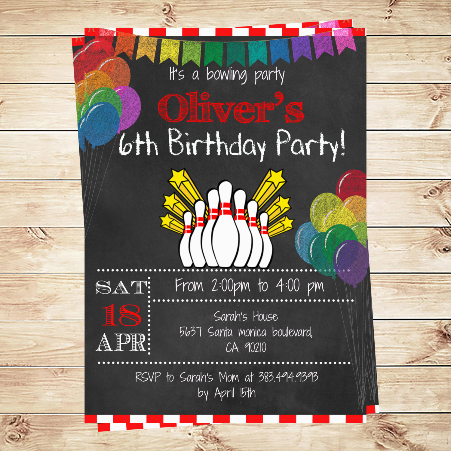 Birthday party invitation ideas girl free 11