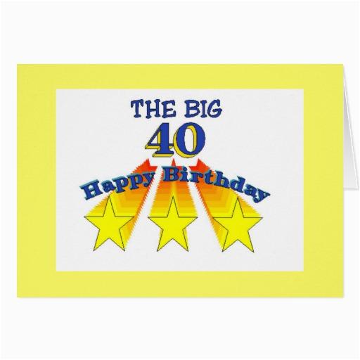 happy birthday 40 year old invitation zazzle